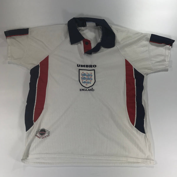 England World Cup 98 Medium/ Large Home Shirt Umbro