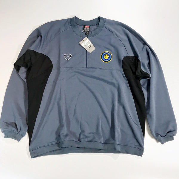 Inter Milan 2000-2001 XXL Nike 1/4 Zip training top Jacket BNWT