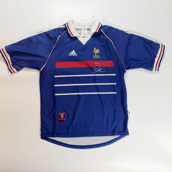 France World Cup 98 Home Shirt Medium Adidas