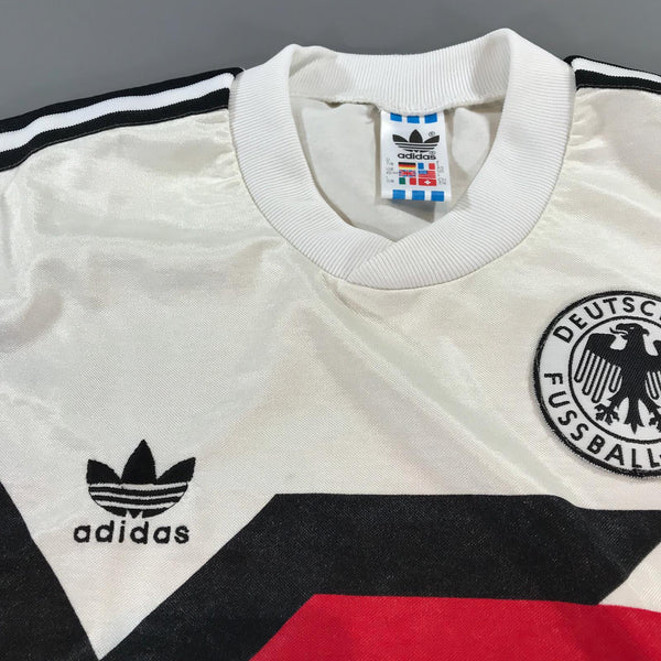 Germany World Cup 1990 Italia Home Shirt Large Adidas