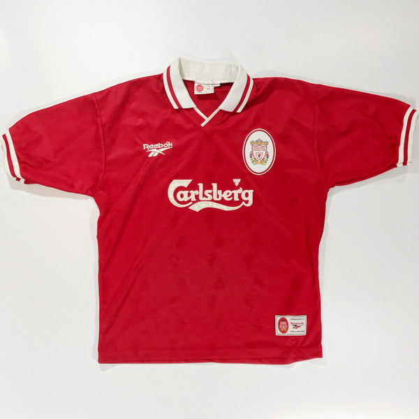 Liverpool 1996-1997 Home Shirt Large 42-44 Fowler #9