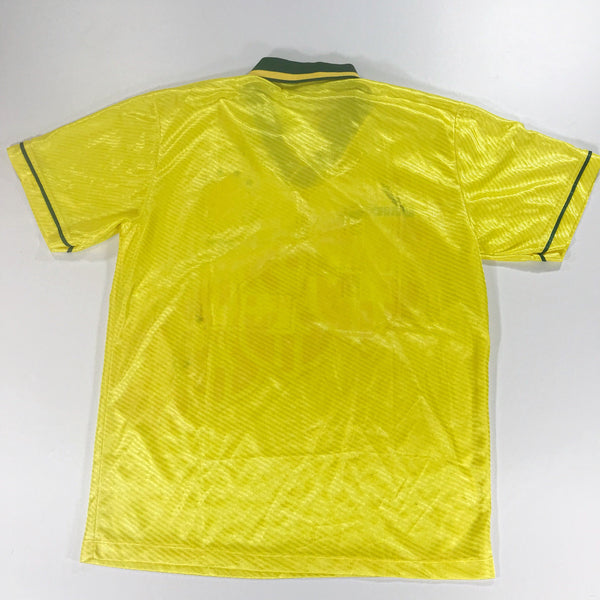 Brazil World Cup 1994 Umbro Home Shirt Large Made in Brasil