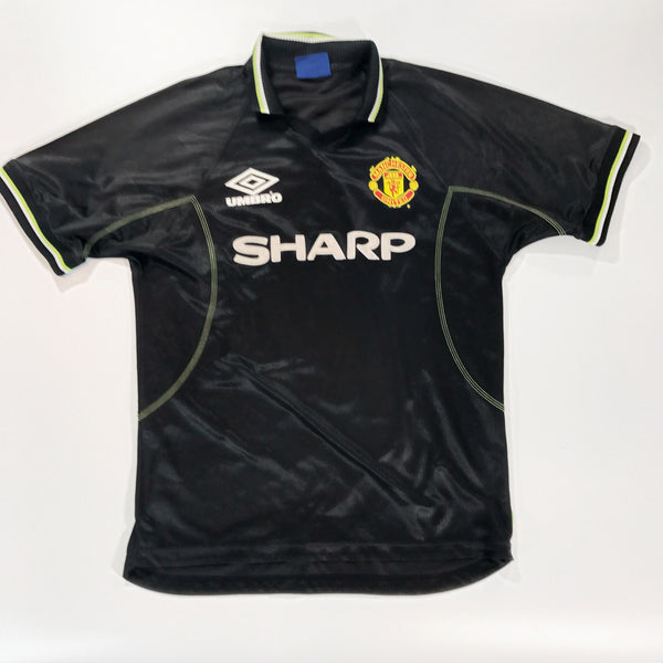 Manchester United 1998-1999 Away Shirt XL Cole #9