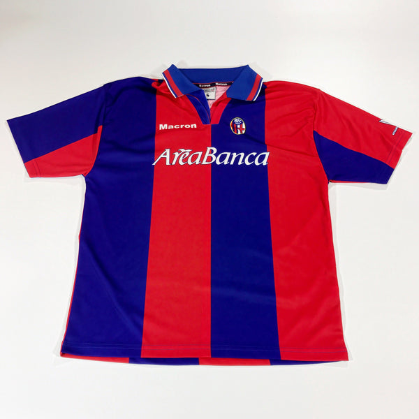 Bologna 2002-2003 Macron Home Shirt Small