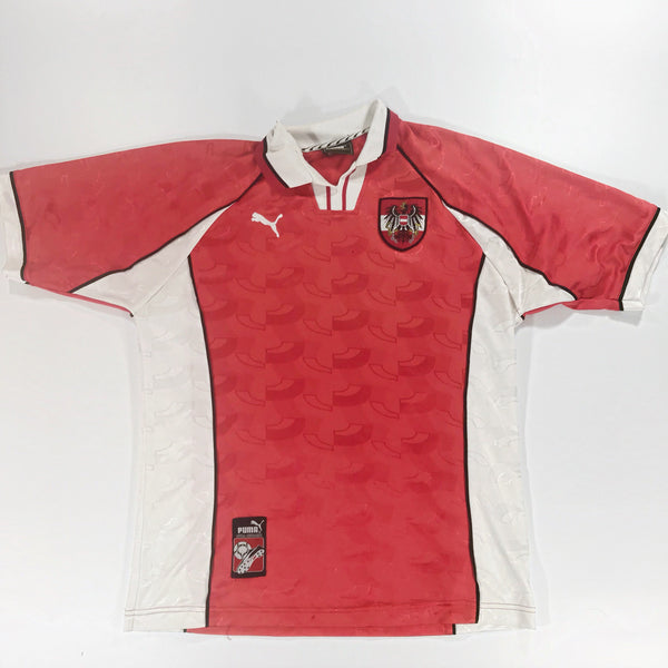 Austria World Cup 1998 Away Shirt Large Puma