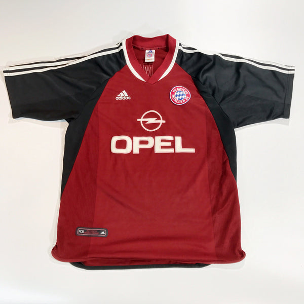 Bayern Munich 2001-2002 Adidas Home Shirt Large Santa Cruz 24