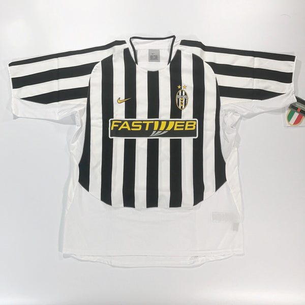 ddbcab1ff juventus 2003-2004 home nike shirt xl bnwt – timeless football