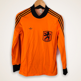 Holland Netherlands 1980 Ventex Home Shirt Medium Adidas