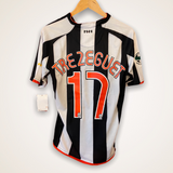 Juventus 2007-2008  Home Shirt Medium Trezeguet #17