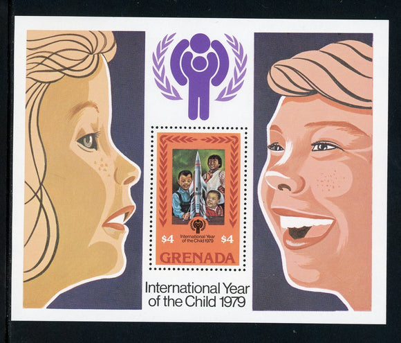 Grenada Scott #920 MNH S/S Int'l Year of the Child IYC CV$2+