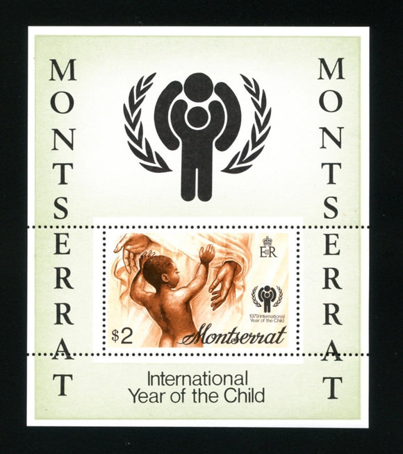 Montserrat Scott #405a MNH S/S Int'l Year of the Child IYC $$