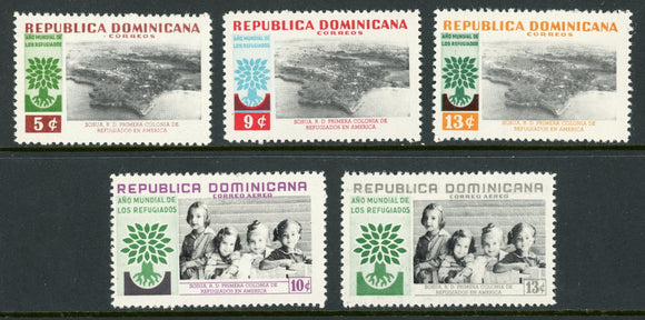 Dominican Republic Scott #522//C114 MNH World Refugee Year CV$2+