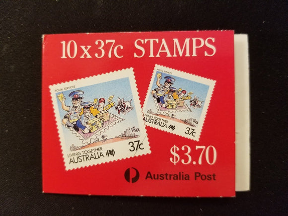 Australia Scott #1063a MNH BOOKLET COMPLETE Cartoons Living Together CV$7+