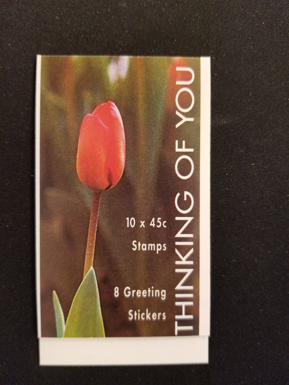 Australia Scott #1369b MNH BOOKLET Flowers FLORA Thinking of You CV$10+
