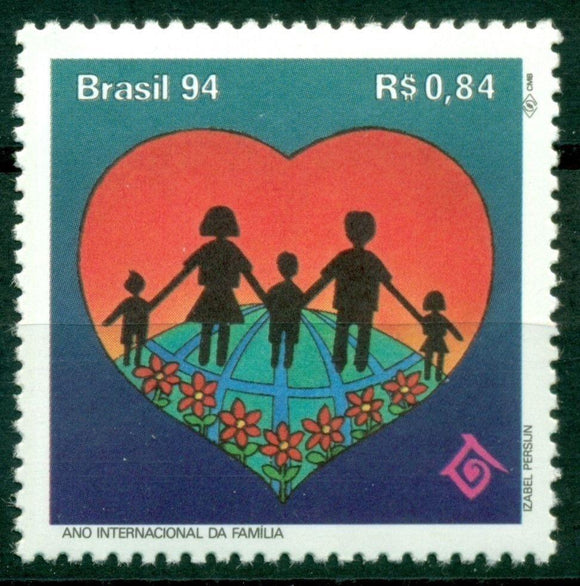 Brazil Scott #2512 MNH International Year of the Family CV$3+