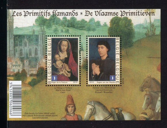 Belgium Scott #2478 MNH S/S Primitive Flemish Paintings with France ART CV$15+