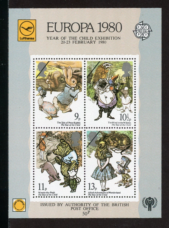 Great Britain Scott #867-870 MNH S/S Int'l Year of the Child IYC $$