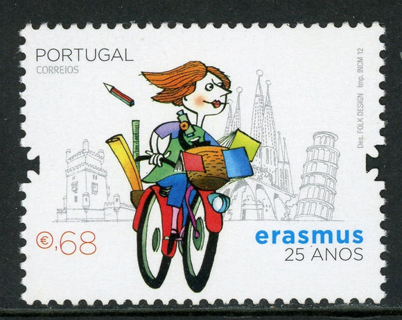 Portugal Scott #3398 MNH Foreign Student Exchange Program $$