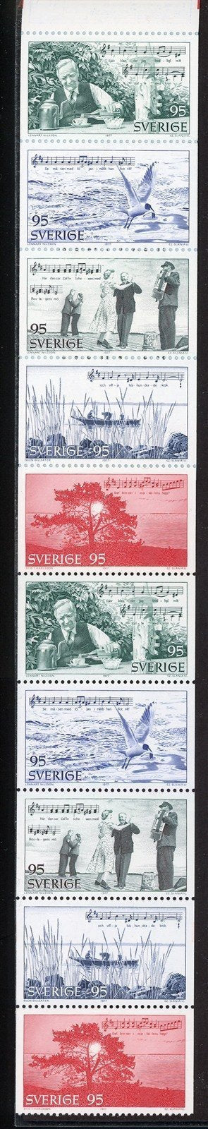 Sweden Scott #1207a MNH BOOKLET Tourist Publicity for Roslagen CV$7+