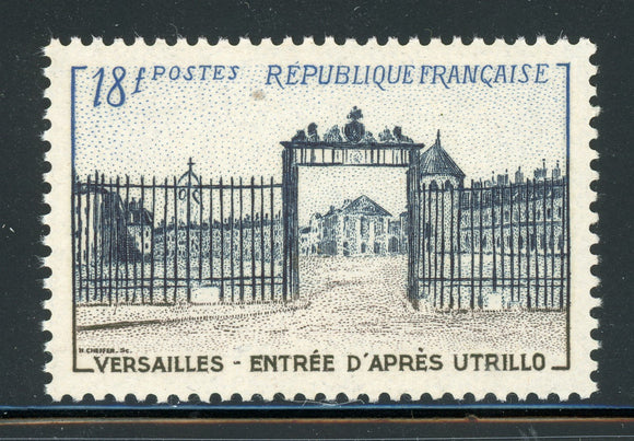 FRANCE MNH : Scott #728 18Fr Palace of Versailles Entrance CV$7+