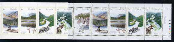 Canada Scott #1325b MNH BOOKLET COMPLETE Canadian Rivers CV$7+