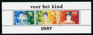 Netherlands Antilles Scott #B255a MNH S/S Boy in Various Stages of Growth CV$4+