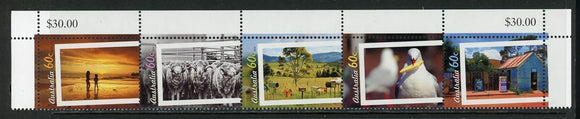Australia Scott #3738a MNH STRIP Everyday Life in Australia CV$6+