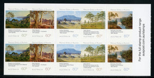 Australia Scott #3888a SA PANE Landscapes at the National Gallery ART CV$12+