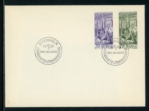 Sweden Scott #699-700 FIRST DAY COVER National Museum 125th ANN $$