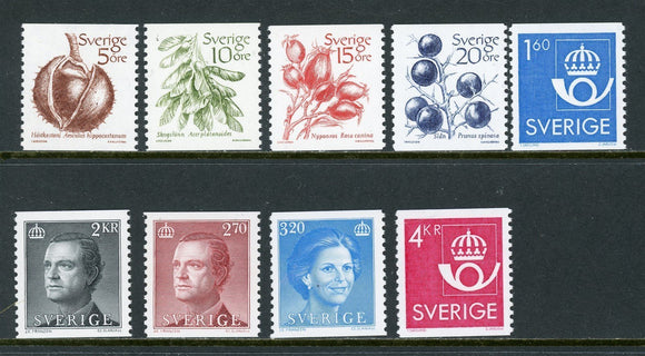 Sweden Scott #1430//1445 MNH Years 1983-85 Definitives $$
