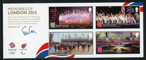 Great Britain Scott #3112 MNH S/S OLYMPICS 2012 London CV$11+