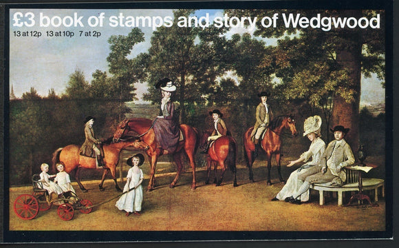 Great Britain Scott #BK145 MNH PRESTIGE BOOKLET Story of Wedgwood CV$5+