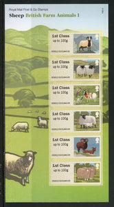 Great Britain SA Post & Go British Farm Animals I $$ (OS-144)