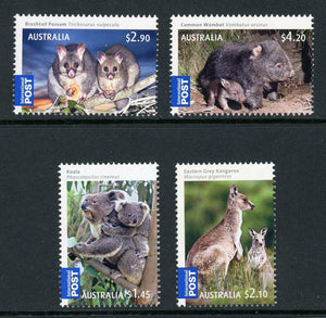 Australia Scott #3096-3099 MNH Marsupials & Their Young FAUNA CV$20+