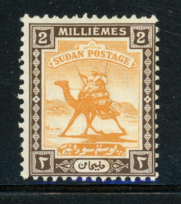 Sudan Scott #30 MH 2m Camel Post CV$9+