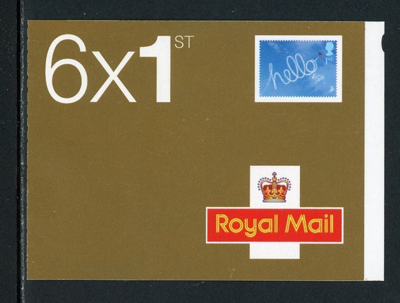 Great Britain Scott #2028Ab MNH BOOKLET Hello and Queen Elizabeth II CV$19+