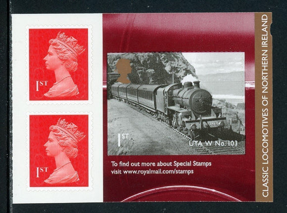 Great Britain Scott #3198a-1 MNH PANE Classic Trains of Northern Ireland $$
