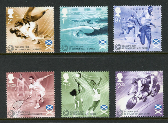Great Britain Scott #3305-3310 MNH Commonwealth Games SPORTS CV$21+