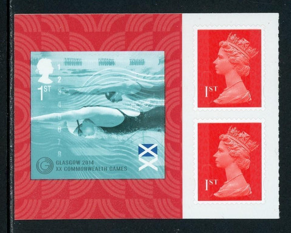 Great Britain Scott #3311a-1 MNH PANE 20th Commonwealth Games $$