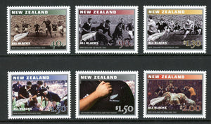 New Zealand Scott #1874-1879 MNH Rugby Test Centenary SPORTS CV$9+