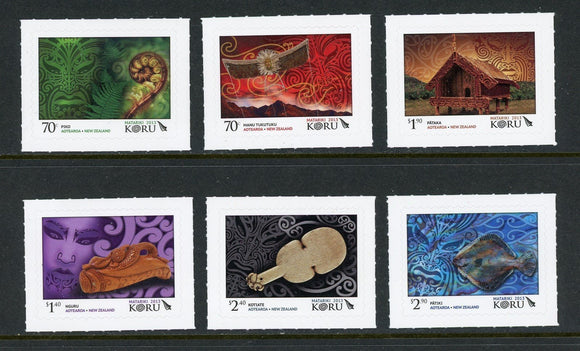New Zealand Scott #2468a-2468f MNH Matariki Maori New Year CV$16+