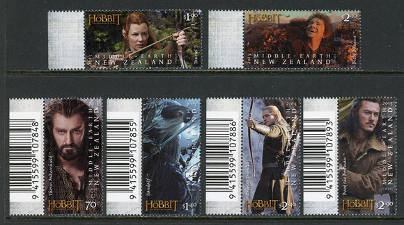 New Zealand Scott #2490-2495 MNH The Hobbit Movie CV$19+