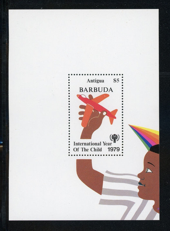 Barbuda Scott #398 MNH S/S Int'l Year of the Child IYC CV$2+