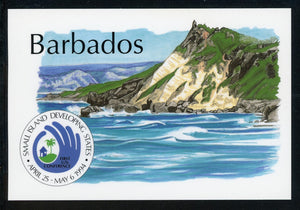 Barbados OS #4 POSTCARD Small Island Development Conference $$