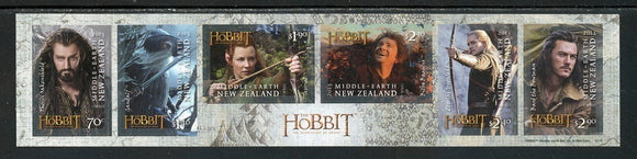 New Zealand Scott #2496 SA SHEET The Hobbit Movie CV$19+