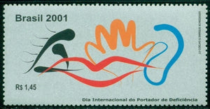 Brazil Scott #2829 MNH Int'l Day of Disabled Persons $$