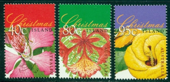 Christmas Island Scott #413-415 MNH Christmas 1998 CV$4+