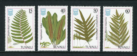 Tuvalu Scott #438-441 MNH Ferns Growing in Tuvalu CV$3+