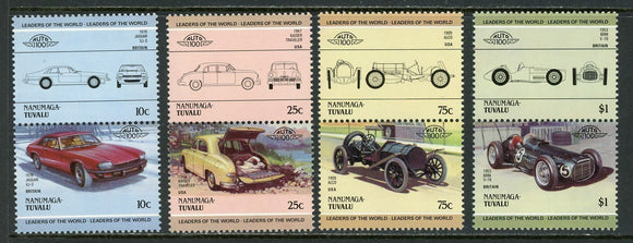Tuvalu-Nanumaga Scott #14//21 MNH Cars Automobiles Assortment $$