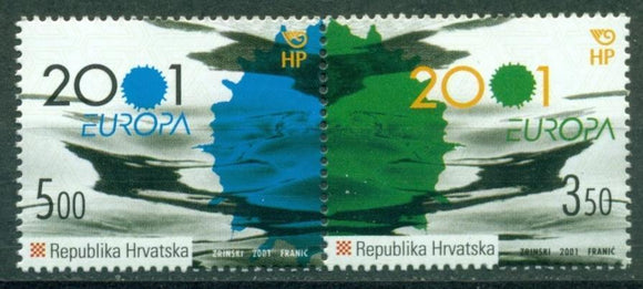 Croatia Scott #451 MNH Pair Europa CV$4+